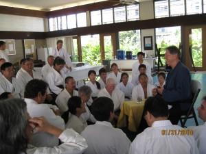 Shugyo Tassei Kigan Shiki Q & A Session at Lokahi Dojo